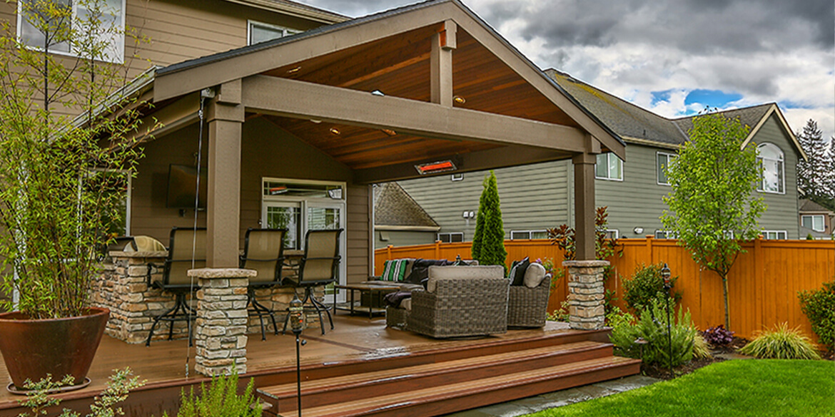 Covered patio trends.