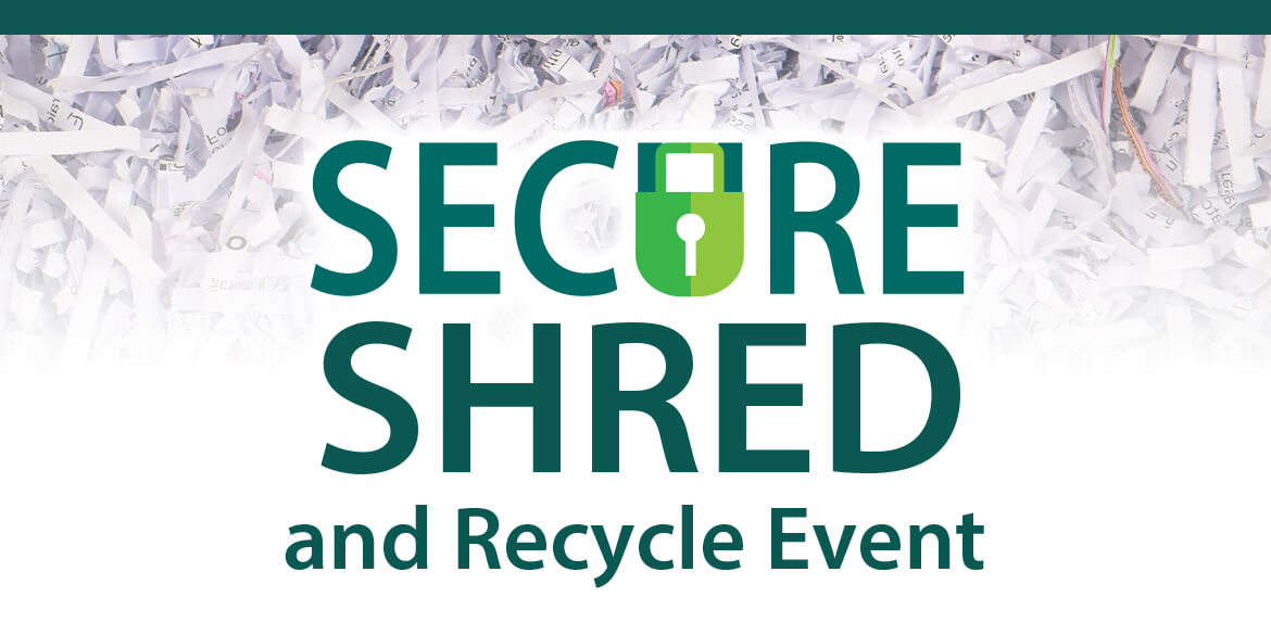 Secure shred papers.